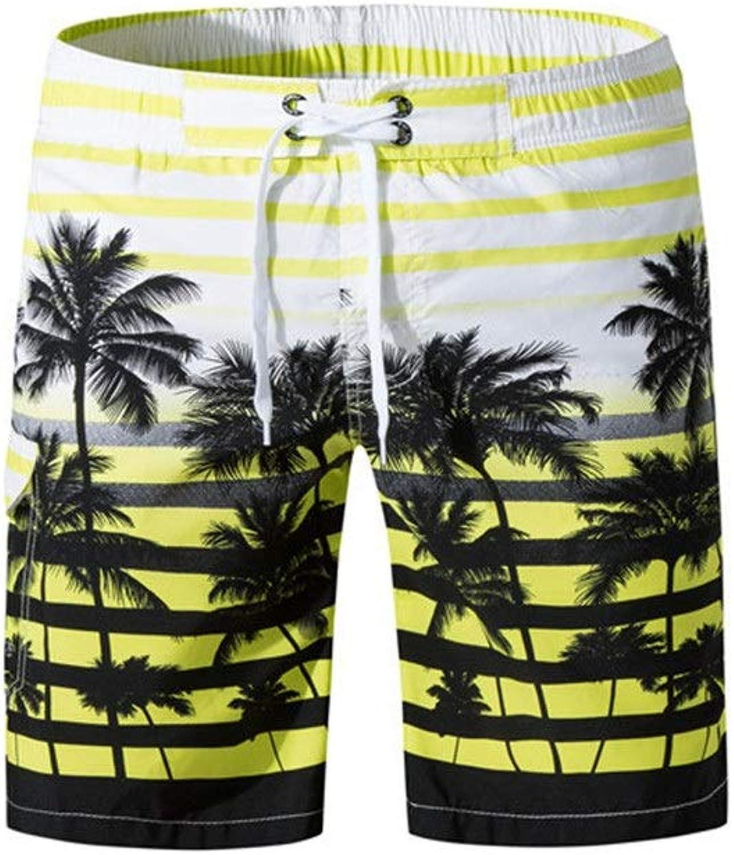 e063ab2090 Mens Swim Trunks Mens Swim Trunks Stripe Pattern Quick Dry Summer Beach  Shorts Surfing Board Shorts