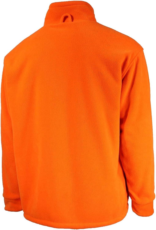 Buckshot Polar Fleece Reversible Hunting Jacket | Camouflage/Blaze Orange Jacket | Unisex Outdoor Camo Jacket