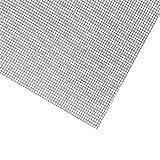 Modellbau Gitter Meterware in Eisen verzinkt, Aluminium oder Edelstahl (V4A) und 3 Breiten wählbar 80cm,100cm,120cm (100cm, Edelstahl V4A)