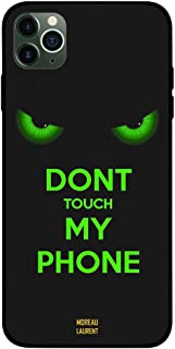 iPhone 11 Pro Max Case Cover Dont Touch My Phone Floral Moreau Laurent Premium Design Phone Covers