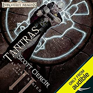 Tantras     Forgotten Realms: The Avatar, Book 2              By:                                                                                                                                 Scott Ciencin                               Narrated by:                                                                                                                                 Nicole Greevy                      Length: 12 hrs and 45 mins     153 ratings     Overall 4.2