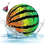 Faffooz Pelotas De Agua, Balón de sandía Juguete de Piscina submarina, Bola Hinchable de Sandía para la Playa, Juguetes para Buceo Submarino para Adolescentes y Adultos - 8,66 Pulgada