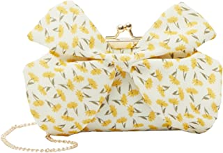 Shoexpress Iridescent Crossbody Bag with Chain Strap and Butterfly Accent One Size Multicolor