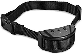 Mumoo Bear Electronic Adjustable Dog No-Bark Anti-Bark Shock Control Pet Training Collar For 15-120 Pounds Dogs