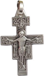 El Crucifijo de San Damián de Plata Maciza 925