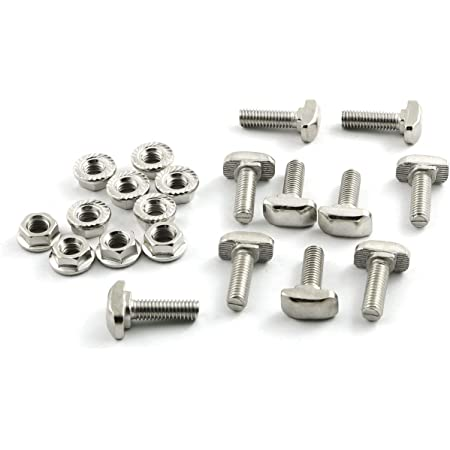 Pk of 5 StarPack Roofing Bolt /& Nut ZP Steel M6 x 40mm 72273