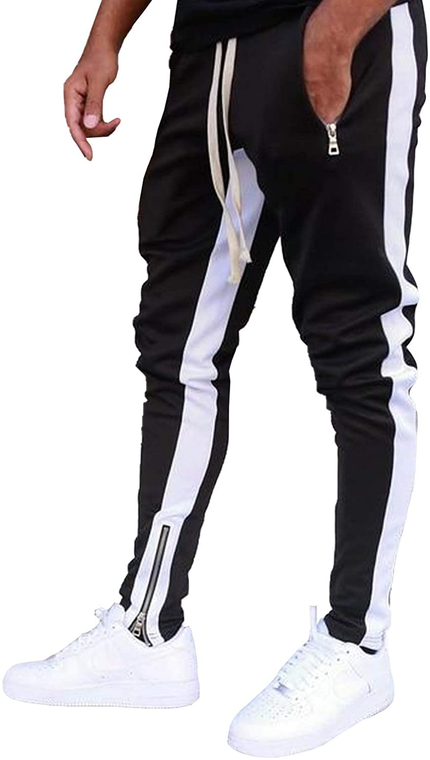 Dokotoo Mens Athletic Gym Training overseas Max 58% OFF Slim Jogger Long Jogging Fit