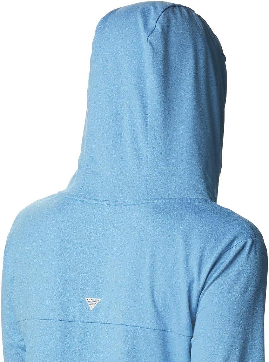 Columbia Slack Water Knit Hoodie Slack Water Knit Hoodie Femme Bleu Azur Chiné.