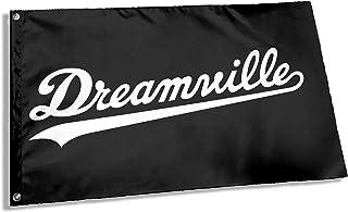 Sovioit J. Cole Rapper Dreamville Flag 3x5 Ft Outdoor Garden Decor Porch to Install Outdoor Banner Flags