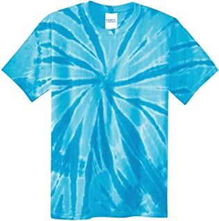 100% Cotton Kids Youth Boys Girls 80S Vintage Look Tie-Dye Tee T-Shirt
