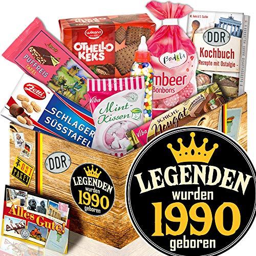 Legenden 1990 - Ostbox Süßigkeiten - Geburtstags Geschenk für Ihn