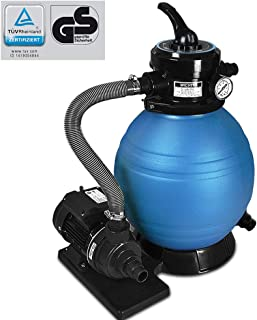 Deuba Depuradora Azul y Negro 10200 l/h bomba de filtro de