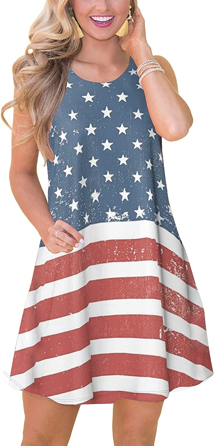 Spadehill Womens Max 76% OFF Summer Large discharge sale Casual Beach Pockets with Dress
