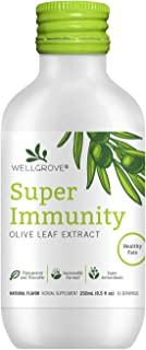 WellGrove Immunity Booster Olive Leaf Extract | All Natural Vegan Dietary Supplement | Super Strength Immune Support, Prom...