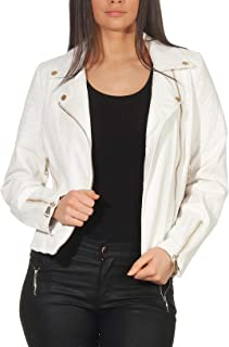 70db82cd27 Malito Femme Simili Cuir Veste Sakko Blazer Faux Leather 5177