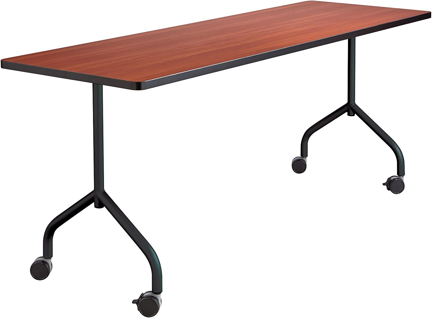 Safco Products 2075BL Impromptu Mobile Training Table T-Leg Base 28 H (Top sold separately), Black