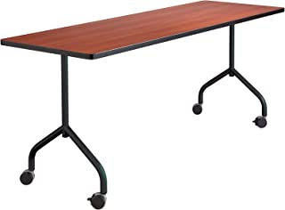 Safco Products 2075BL Impromptu Mobile Training Table T-Leg Base 28