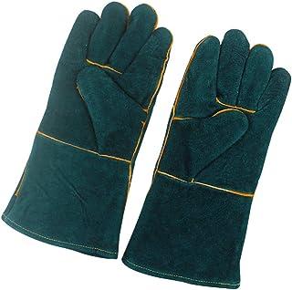 POPETPOP 1 Pair Animal Handling Anti-bite Scratch Gloves Reptile Pet Bite Resistant Protective Glove for Dog Cat Bird Snak...