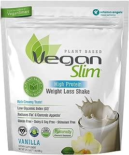 Naturade Veganslim Plant Based Vegan High Protein Weight Loss Shake – Vanilla - 24.2 oz
