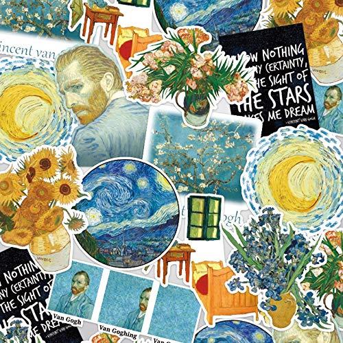 Picasso Schilderij Vintage Stickers Crafts Scrapbooking Stickers Boek Student Label Decoratieve Sticker Diy briefpapier 16 stks