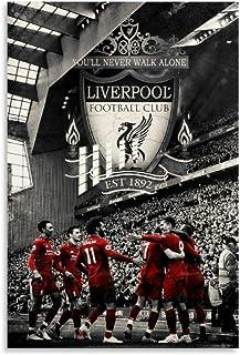 Liverpool FC Champions Poster d/écoratif sur toile pour salon chambre /à coucher 20 x 30 cm