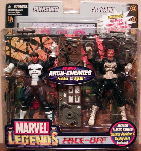 Marvel Legends Face Off Punisher Vs. Jigsaw
