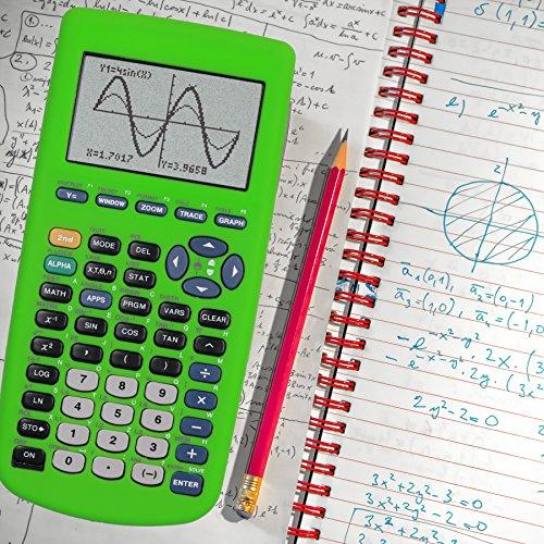 Guerrilla Silicone Case for Texas Instruments TI-83 Plus Graphing Calculator, Green Photo #8