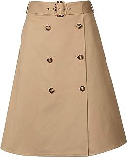APART Fashion Rock Falda, marrón Claro, Talla única para Mujer