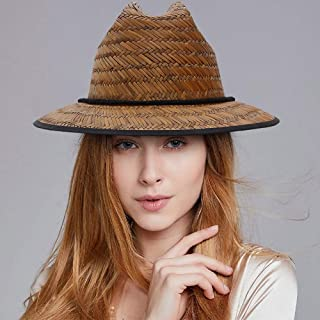 SHENTIANWEI Fashion Women Dome Hat Straw Hat Wide Brim Hat Outdoor Travel Casual Hat Size 56-58CM
