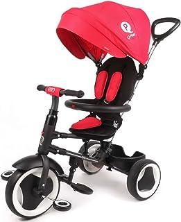 Triciclo Evolutivo Plegable QPlay Rito - Rojo - Niños de 10