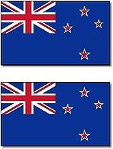 ニュージーランド 国旗 フェイス シール 2枚入り <水転写タイプ>  ( 国旗 ペイント タトゥー シール )