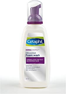 Cetaphil Dermacontrol Oil-Control Foam Wash,235 Ml