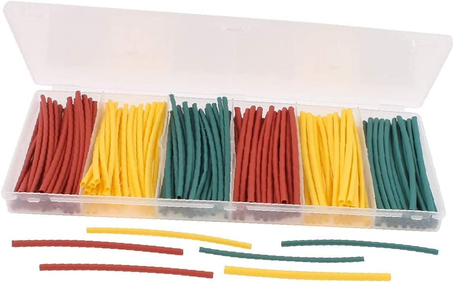 X-DREE Ranking TOP18 180pcs Insulated Heat Shrink Wrap Tube Protection online shopping Tubing
