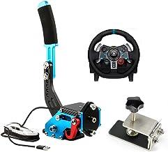 14Bit PC USB Handbrake SIM for Racing Games G25/27/29 T500 FANATECOSW Dirt Rall Blue
