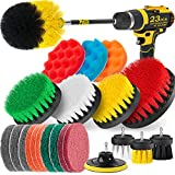 Best Drill Brushes - Holikme 23Piece Drill Brush Attachments Set,Scrub Pads Review