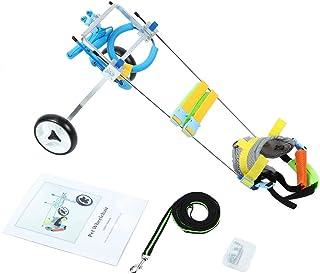 車椅子 犬 補助輪 ドッグウォーカー 散歩車 練習車 犬車椅子 後肢 リハビリ 散歩補助 歩行補助 老犬介護 2輪(XS広がり)