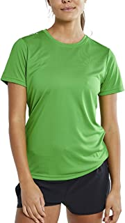 Womens Short Sleeve Dry Tech Workout Shirt- Loppet, Pack of Two