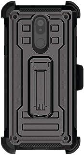 Ghostek Iron Armor2 Military Grade Case with Holster Belt Clip Designed for LG Stylo 5 (Black)