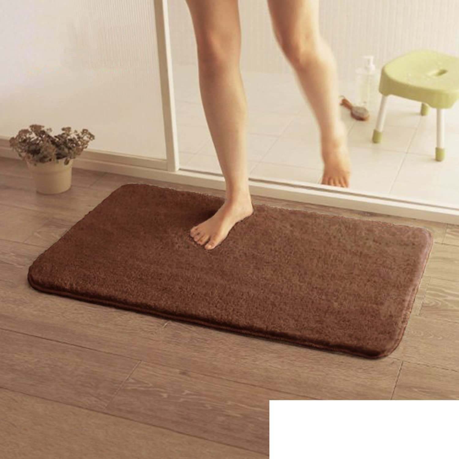 Mats Mat Foyer Bathroom Absorbent Suede Rubbing Mat Bathroom Door Anti-Skid Mat-C 80x120cm(31x47inch)