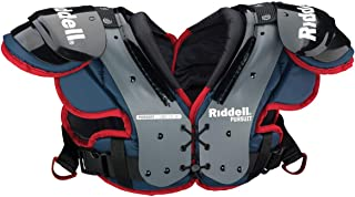 Riddell Sports 8053420 Pursuit Youth Shoulder Pad, Blue/Red