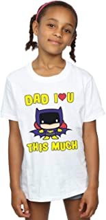 DC Comics Girls Batman Dad I Love You This Much T-Shirt
