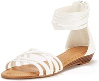 DREAM PAIRS Women's JUULY Flat Sandals