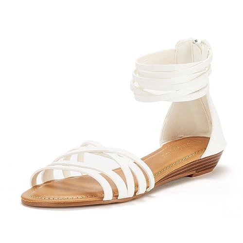 d02a67c434fa DREAM PAIRS Women s JUULY Flat Sandals