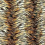 Fabulous Fabrics Fellimitat rotbraun, Tier, 147cm breit