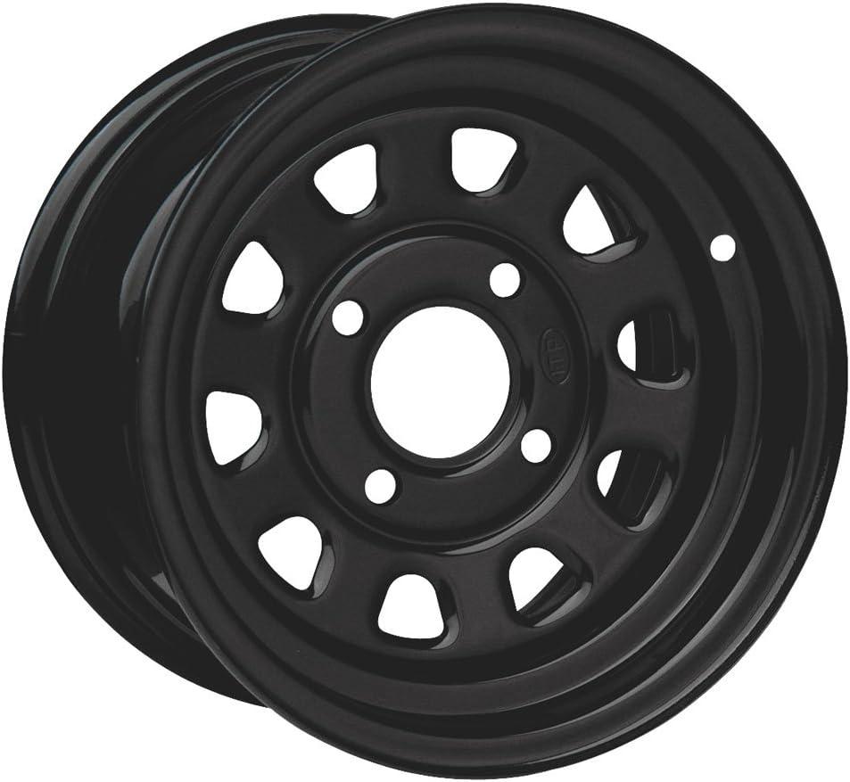 ITP Delta Steel service Wheel Popular standard - 12x7 Offset Black 4 Bolt 5+2 110