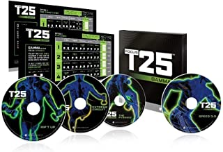 BQN Uode T25 Gamma Shaun T's Focus Workout on 4 DVD,Fitness Exercise