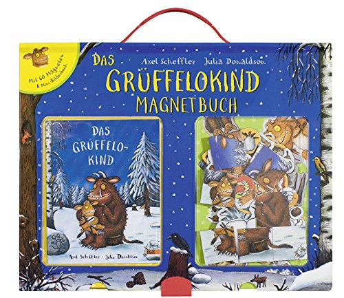 Grüffelokind Magnetbuch: Mit 60 Magneten und Mini-Bilderbuch im Spielbuchkoffer