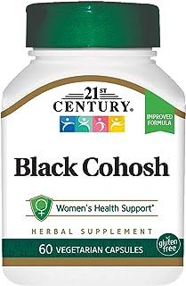 21 ST CENTURY BLACK COHOSH & SOY ISOFLAVONES 60 CAPS