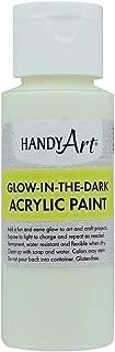 Handy Art Glow in the Dark Acrylic Paint 2 ounce, Clear