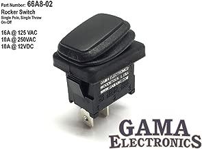 GAMA Electronics Waterproof Mini Off-On Rocker Switch